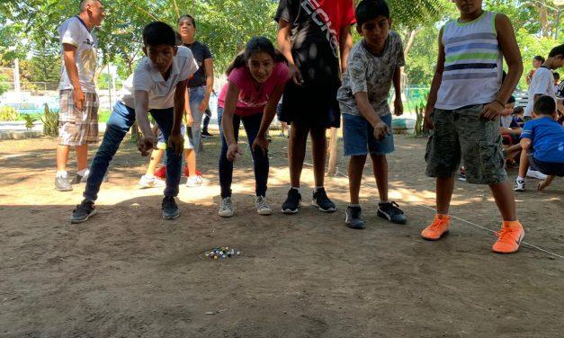 Secretaría de Cultura, promueve fomento de juegos infantiles tradicionales