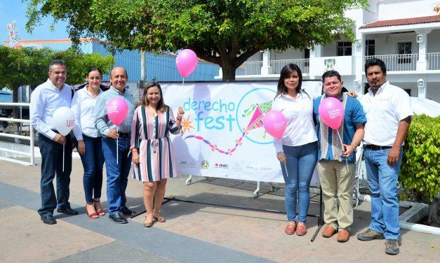 """Arranca """"Derecho Fest"""" con resultados de la Consulta Infantil y Juvenil 2018"""