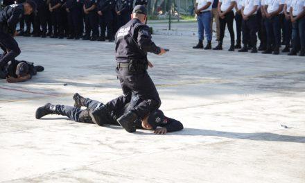 Terminan 46 personas su formación como policías preventivos: SSP