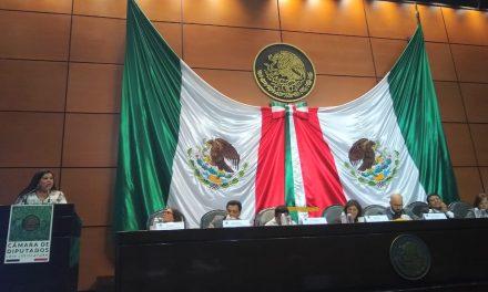 Rosalva Farías entrega conclusiones de foros educativos en la Cámara de Diputados