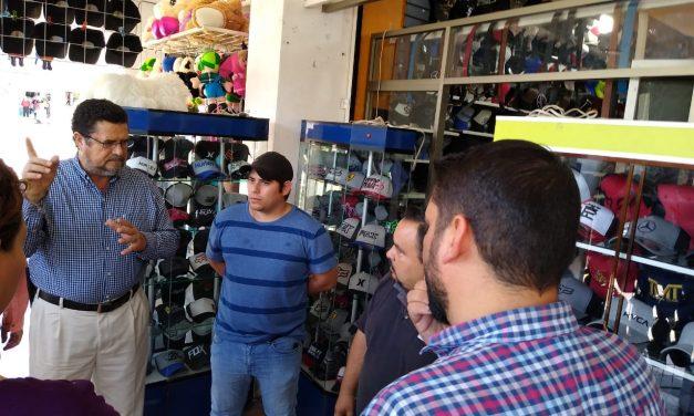 En Tecomán, a partir de este lunes los comerciantes  ya no utilizarán la vía pública para anunciar sus productos