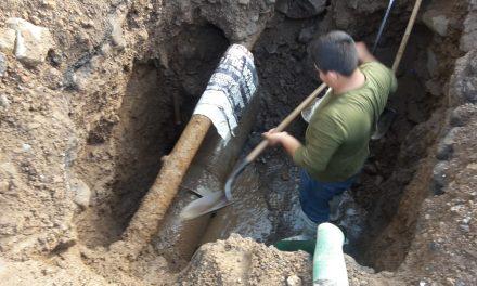 Reanuda Ciapacov servicio de agua tras reparar tubería