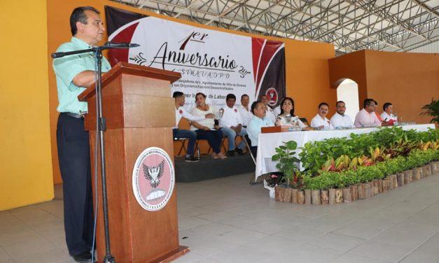 Llevamos buena relación con trabajadores, para servir mejor a ciudadanos: Felipe Cruz