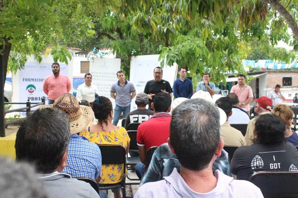 Rehabilitarán sistema de agua potable en la comunidad de Agua Zarca