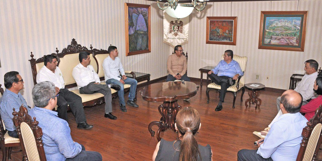 Estrecharán colaboración UdeC y alcaldía de Coquimatlán