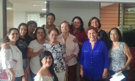 Se concretó el registro de María de la Luz Fajardo; aspira a presidir la CDHEC