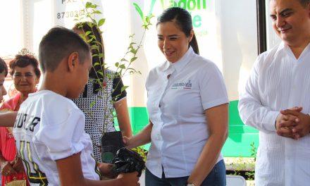 Visita Colima el Vagón Verde, el Tren de la Ecología