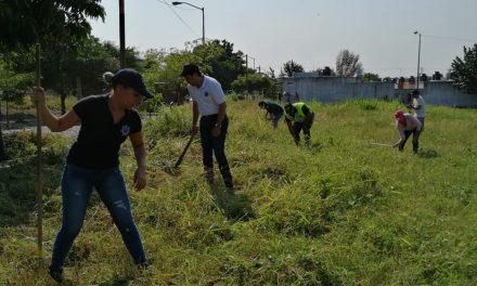 Se trabaja en el rescate de espacios públicos, con la participación de la población: Felipe Cruz
