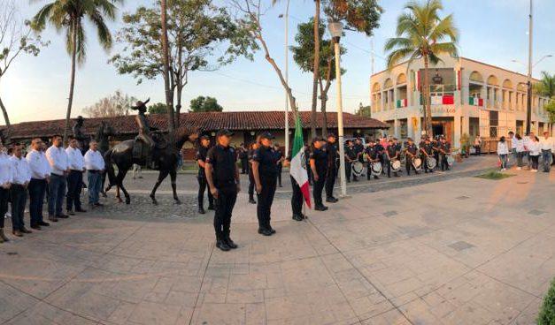 Saldo blanco en grito de independencia y desfile cívico militar en La Villa