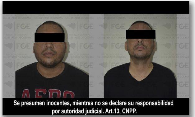 En Madrid, detienen a dos y aseguran armas y droga en un cateo