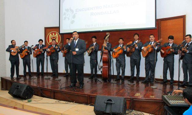 Reúne aniversario de plantel tres rondallas de México, en Tecomán