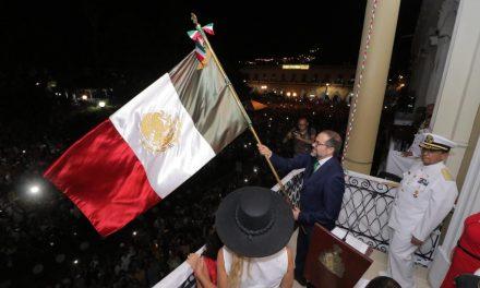 Encabeza Gobernador festejos con motivo de la Independencia Nacional