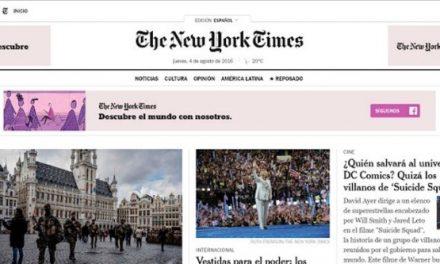 El Instituto Cervantes lamenta el cierre de The New York Times en español