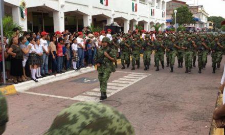 Se alistan Fuerzas Armadas para apoyar en actividades de seguridad con motivo del mes patrio