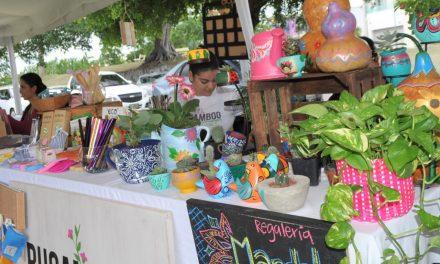 Un acierto primer Mercado Ecológico Punto Eco; empresarios agradecen al Ayuntamiento de Colima