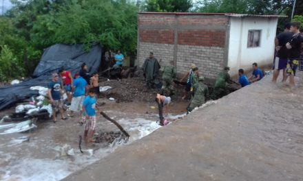 Jóvenes recaudan apoyos a favor de familias afectadas por Huracán Lorena