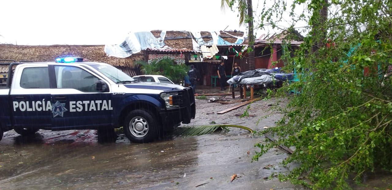 Sin descuidar los patrullajes en las zonas urbanas, SSP recorrió zonas de playa en municipios costeros