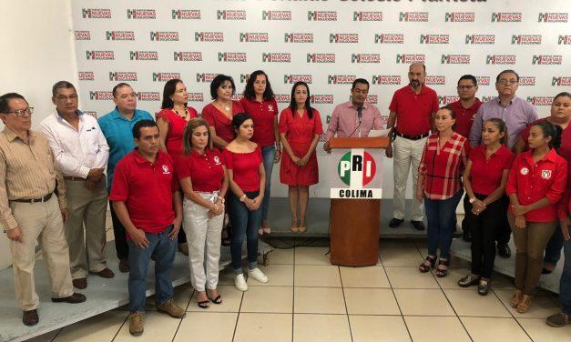 El Gobierno Federal es injusto con Colima; preocupante panorama para la gente trabajadora: PRI