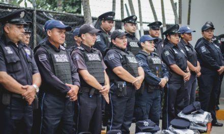 mejoraN condiciones de trabajo a los elementos de la Policía Municipal de Colima