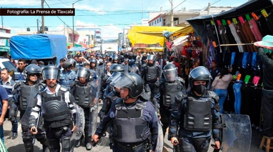 El director de La Prensa de Tlaxcala sufre nueva agresión de policía municipal en Apizaco