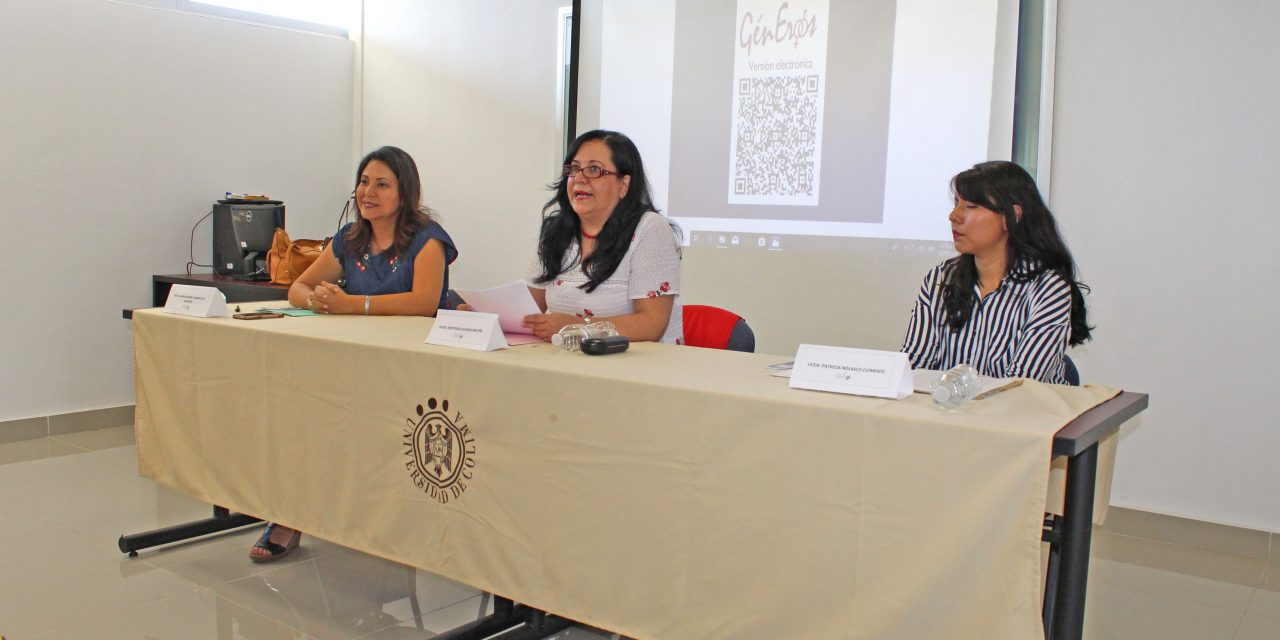 Presentan revista GénEros, número 26