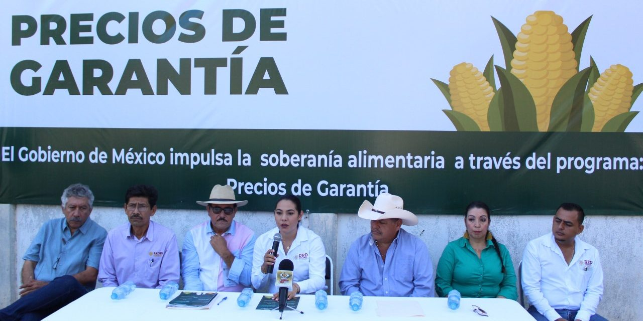 INDIRA VIZCAÍNO PONE EN MARCHA   CENTROS DE ACOPIO DE GRANOS BÁSICOS