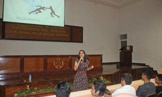 Promueven salud mental y prevención del suicidio, en Manzanillo