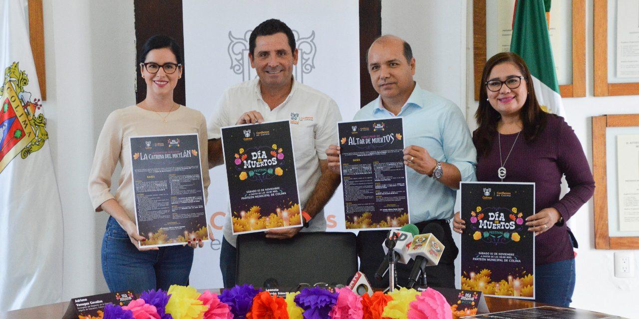 Festival de Día de Muertos 2019, en el Panteón Municipal de Colima