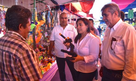 La campaña Juguemos Sin Violencia llega a la Feria de Colima