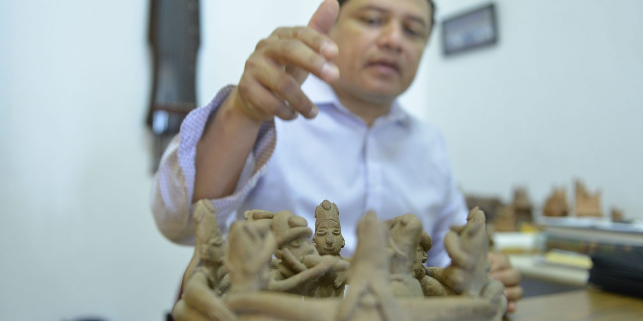 Culturas prehispánicas de occidente desarrollaron expresiones artísticas complejas: Abraham Elías