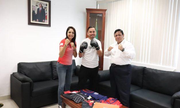 El boxeador colimense Julio César Baeza Mendoza participa en Juegos Latinoamericanos de Policías y Bomberos