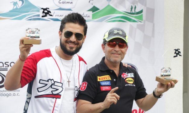 Premian a ganadores del Tercer Rally Colima 2019