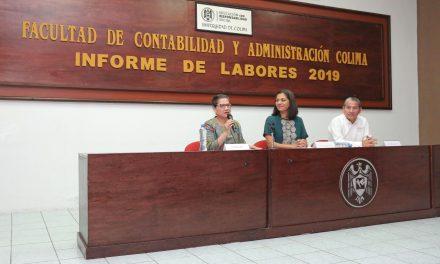 Tasa de retención, fortaleza de la Facultad de Contabilidad y Administración de Colima