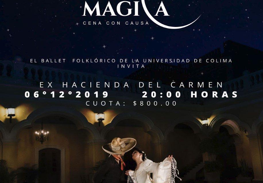 """Invita Ballet Folklórico de la UdeC a """"Noche mágica"""""""