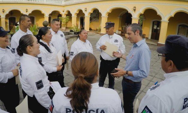 Policía Municipal de Colima, se capacita para recibir a turistas