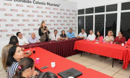 Presentan a Fernando Moreno Peña como delegado Regional  y a Antonio Lugo como delegado Estatal del PRI
