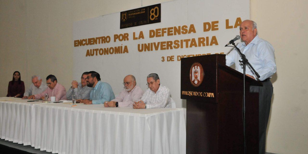 Suman fuerzas líderes y ex líderes de la FEC en defensa de la autonomía de la UdeC