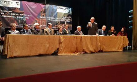 Mensaje de toma de posesión de Juan Ramón Negrete Jiménez, Presidente de la Federación de Asociaciones de Periodistas Mexicanos