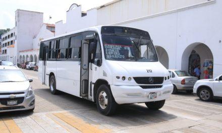 Habrá transporte público la noche de año nuevo en Manzanillo