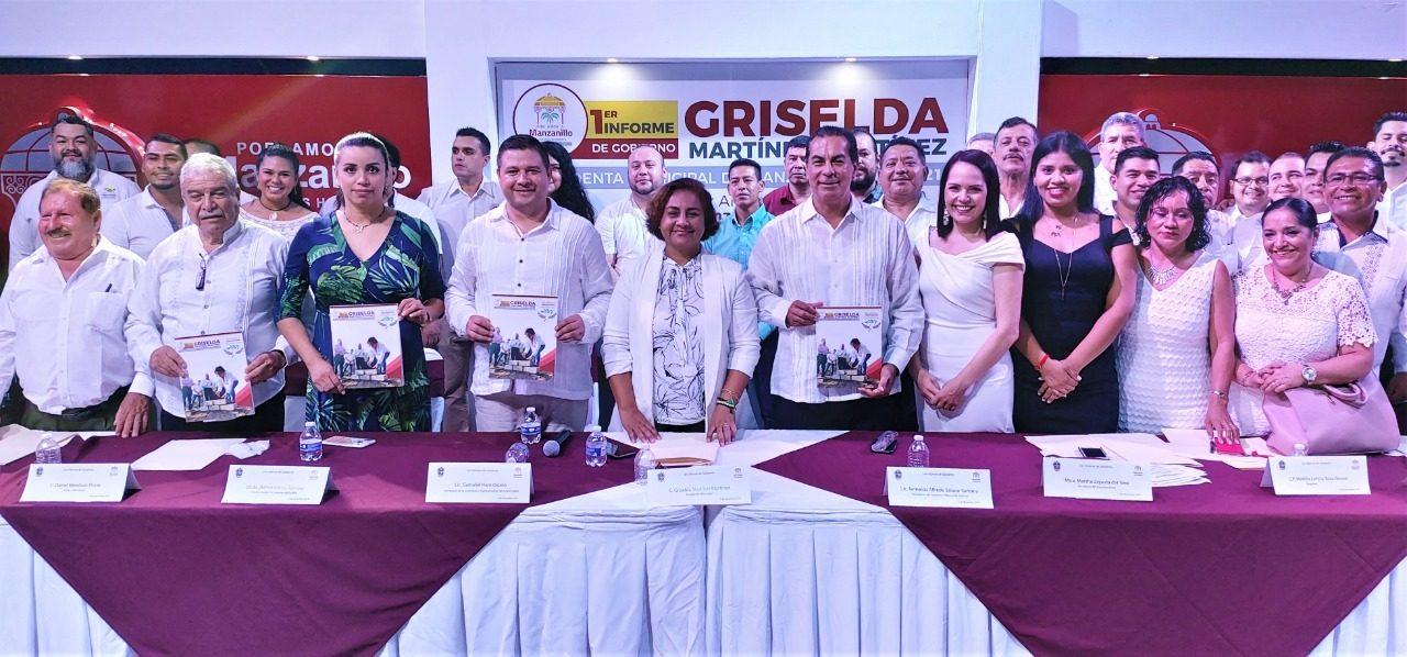 El Plan Estratégico de Vinculación y Articulación de la Ciudad y Puerto de Manzanillo, el principal legado: Griselda
