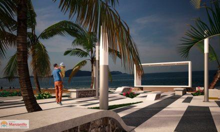 Ayuntamiento de Manzanillo construye nuevo acceso de la playa en Salagua
