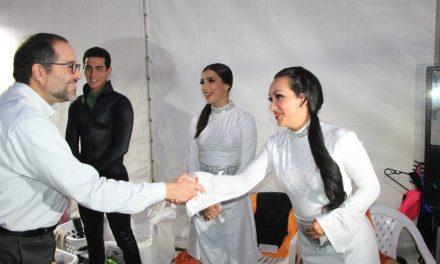 Un éxito el Festival Manzanillo On Ice; más de 108 mil personas disfrutaron de la pista de hielo y el espectáculo de patinaje