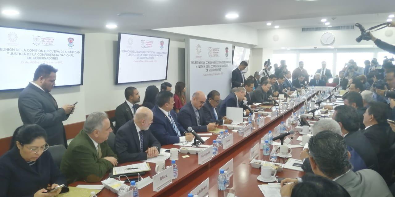 Participa Secretario de Seguridad Pública en reunión de comisión de Conago