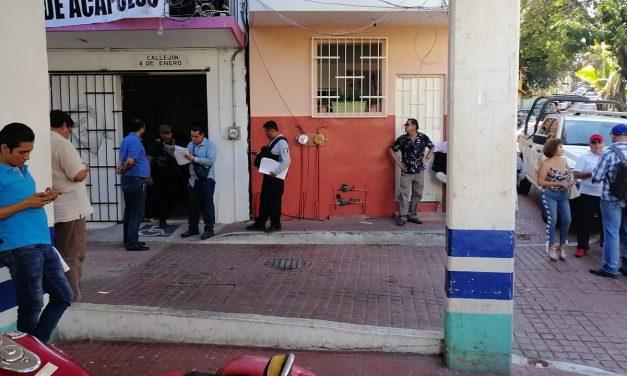 Irrumpen ministeriales armados en la Casa del Periodista, en Acapulco