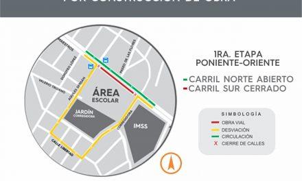 Continuarán los trabajos de remodelación de Av. De Los Maestros, anuncia Ayuntamiento de Colima
