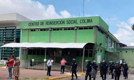 PENALES DE COLIMA CUENTAN CON 244 INTERNOS DEL FUERO FEDERAL