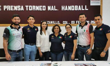 Dan a conocer torneo de handball, en Manzanillo