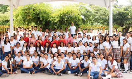 Cumple Bachillerato 26 de la UdeC 21 años de servicio, en Ixtlahuacán
