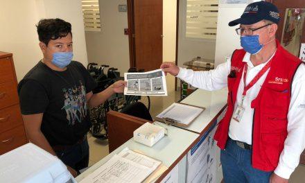 En tres días, Coespris imparte 114 pláticas de fomento sanitario y, clora 360 mil litros de agua