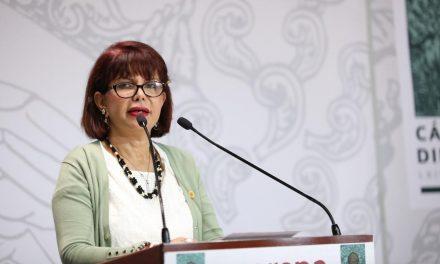 La diputada Claudia Yáñez Centeno reprueba la creciente ola de violencia contra la mujer